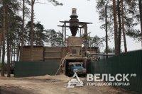 Лесная промышленность города Шенкурск