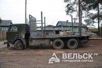 «КАМАЗ» столкнулся с автобусом с 3 детьми в Шенкурском районе