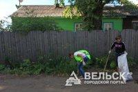 Пакшеньга в Вельском районе стала чистой и ухоженной