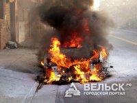 В Няндоме пострадал автомобиль «Skoda Octavia»