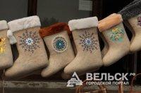 Шенкурские сувенирные валенки можно купить в Архангельской области