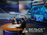 Жители Вельска задали вопросы губернатору Архангельской области