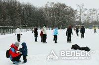 В Вельском районе растёт число любителей покататься на коньках