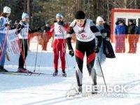 Вельчанин выиграл занял второе место в лыжных гонках
