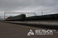 На участке Вологда – Коноша Северной железной дороги произошло