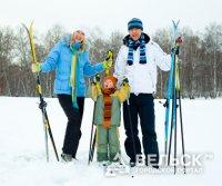 В Архангельской области прошли массовые соревнования по лыжному спорту
