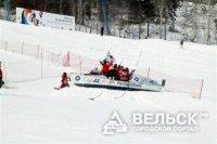 Министр социальной защиты встал на лыжи!