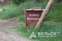 В Шенкурском районе не правильно хранили бытовые отходы