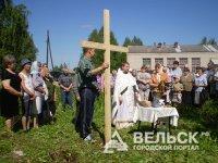 В Вельском районе построят церковь