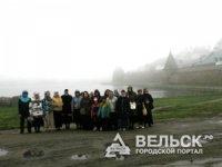 Вельчане побывали на  Соловецких островах