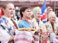 Вельчане выступили на маргаритинской ярмарке