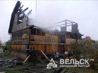 В Няндоме сгорела дача