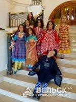 Вельчане приняли участие в бале моды