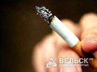 Пожар из-за сигареты