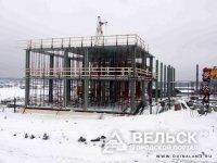 В Подюге строят школу