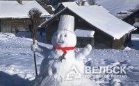 Открытие резиденции Снеговика