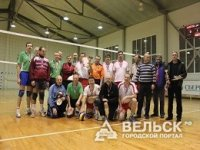 Волейбольный турнир среди ветеранов прошел в Вельске