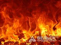 В Няндоме горела пилорама