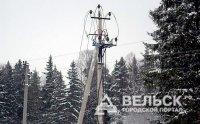 В Шенкурском районе нет света
