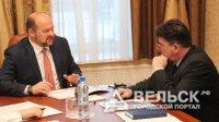Игорь Орлов встретился с главой Коношского района