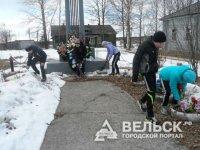 Жители Коношского района отремонтировали мемориалы