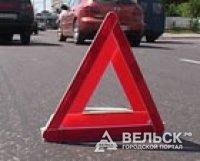 Серьезное ДТП произошло на трассе Вельск-Шангалы