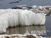 На реках Архангельской области зафиксирован ледоход