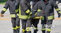 В Няндоме на железнодорожном вокзале пожарные проводили учения